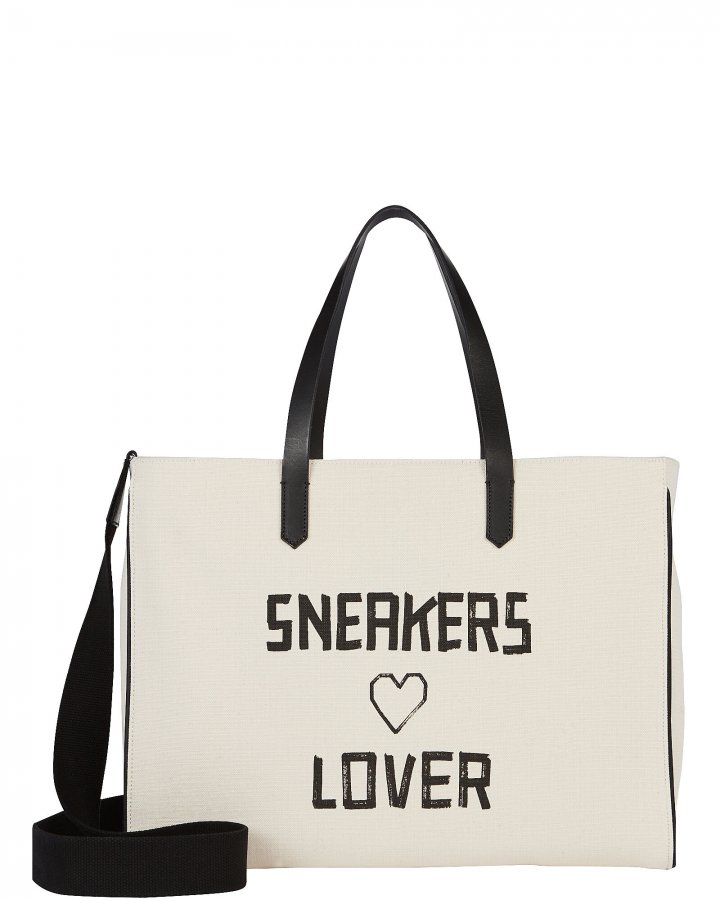 Sneakers Lover East-West California Tote
