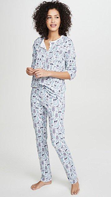 Nordic Folk Pajamas