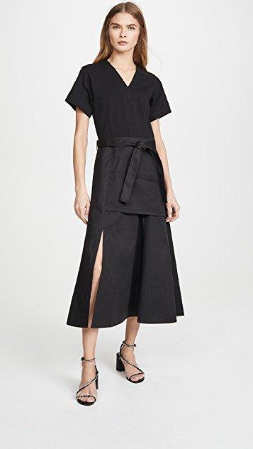 Short Sleeve Utility Dress