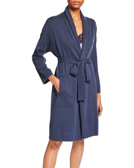 Cashmere Short Robe