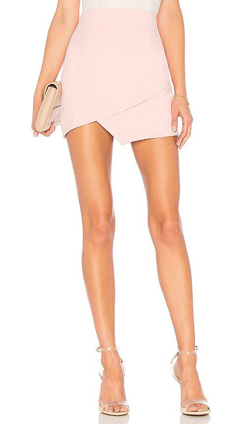 Saira Faux Suede Mini Skirt