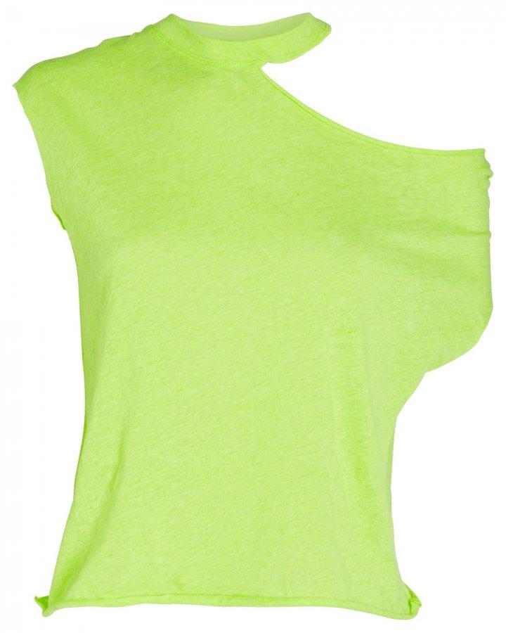 Axel Cotton-Cashmere Cut-Out T-Shirt