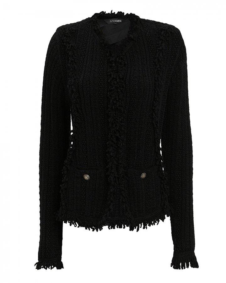 Ikaterina Black Knit Jacket