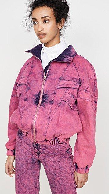 Neon Pink Galaxi Jacket