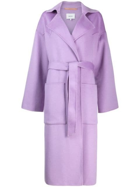Nanushka Oversized Robe Coat - Farfetch