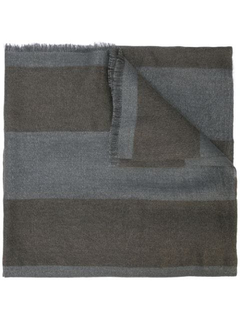 Brunello Cucinelli Striped Scarf - Farfetch