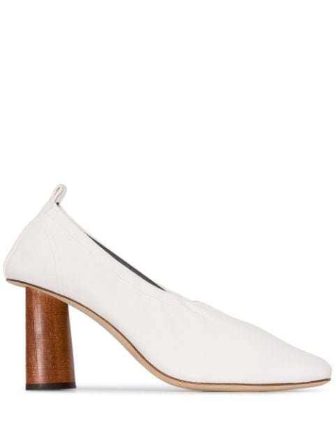 Rejina Pyo Edie 80mm Wooden Heel Pumps - Farfetch