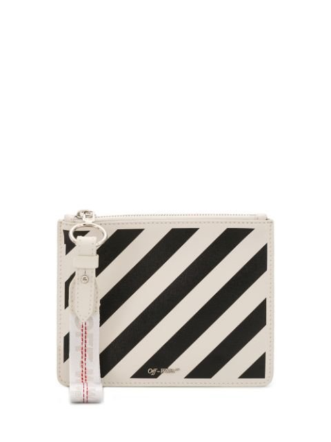 Off-White Diagonal Stripes Pouch - Farfetch