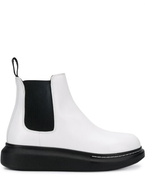 Alexander McQueen Chunky Sole Chelsea Boots - Farfetch