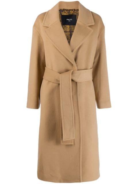 Paltò Belted Robe Coat - Farfetch