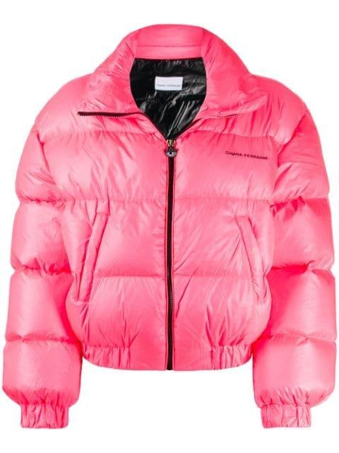 Chiara Ferragni Neon Puffer Jacket - Farfetch