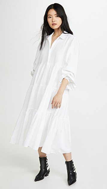 Light Heart Shirt Dress