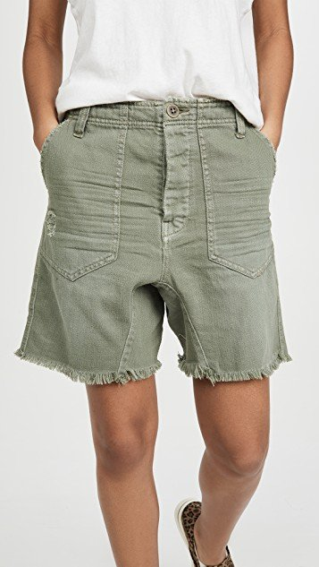 She\'s A Legend Harem Shorts