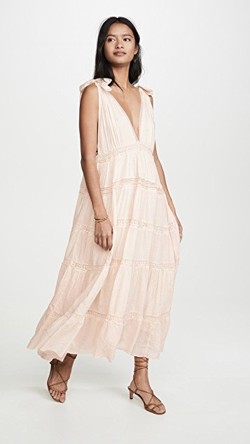 Lily Of The Valley Midi Dress