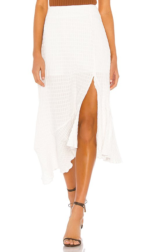 Fall For You Asymmetrical Skirt