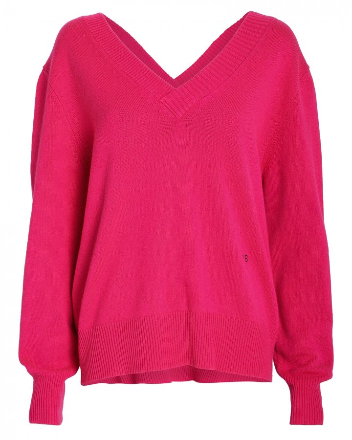 Double V Cashmere Sweater