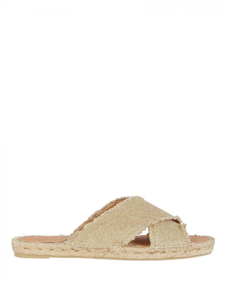 Palmera Espadrille Flat Sandals