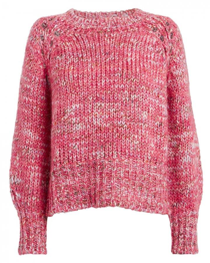 Hubert Marled Wool-Blend Sweater