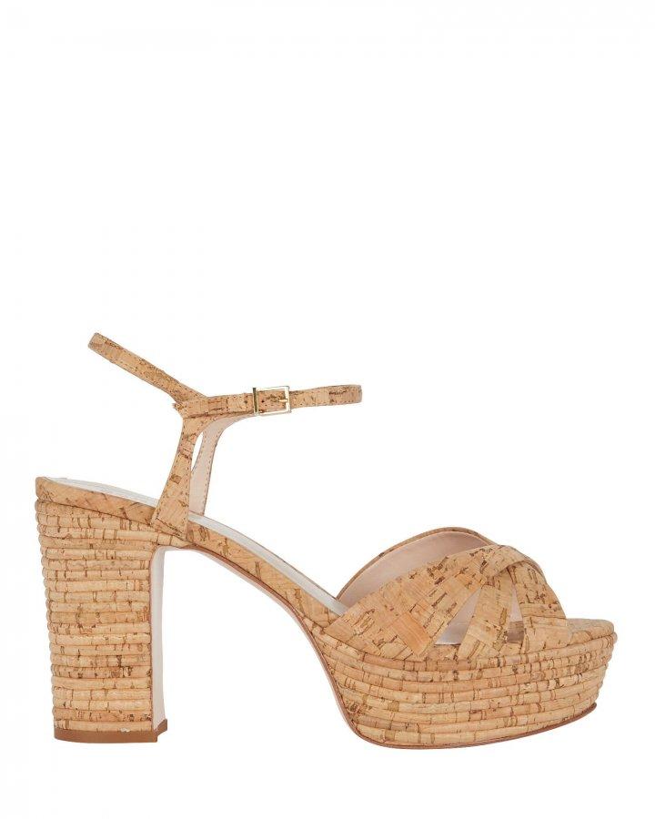 Darilia Cork Platform Sandals