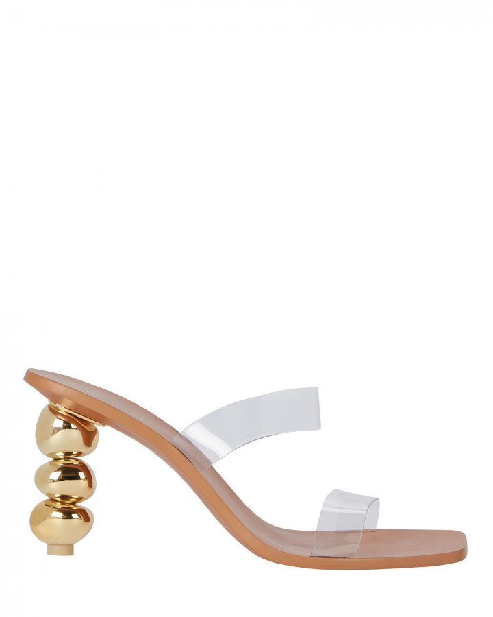 Meta PVC Sandals