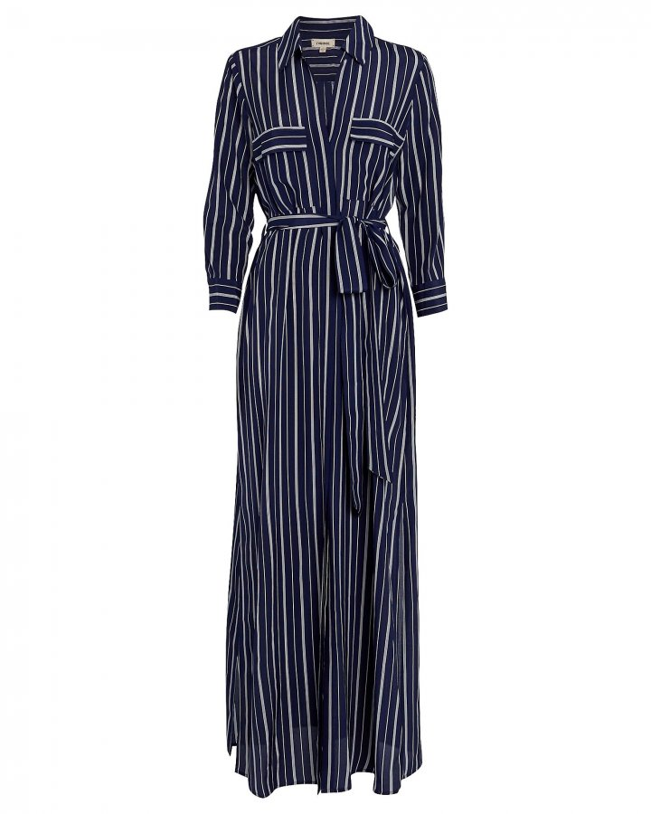 Cameron Striped Shirt Dress