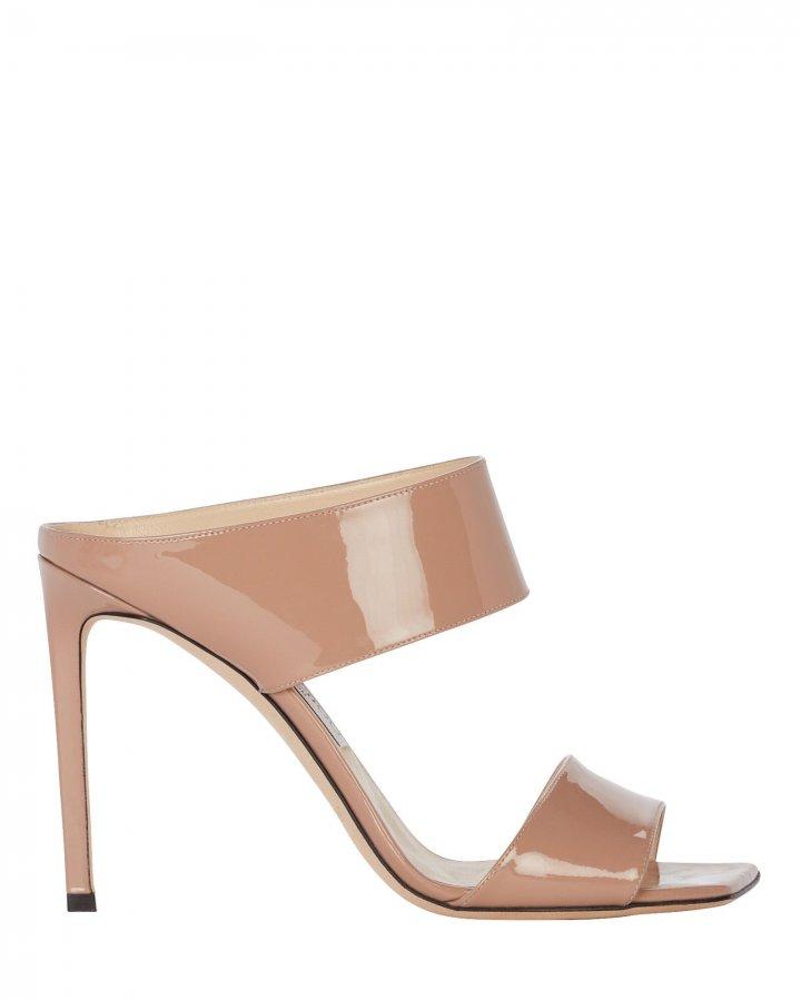 Hira 100 Patent Leather Sandals