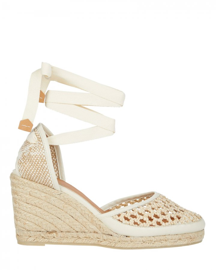 Carola Braided Espadrille Wedges