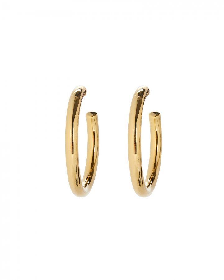 Vermeil Hoop Earrings