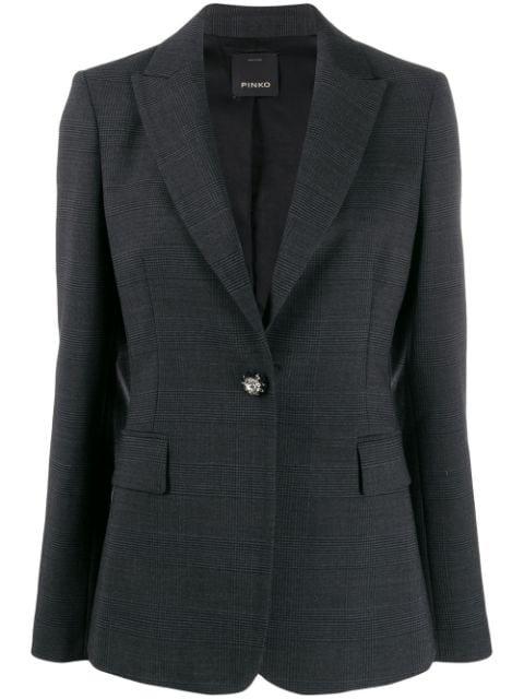 Pinko Tailored Checked Blazer - Farfetch