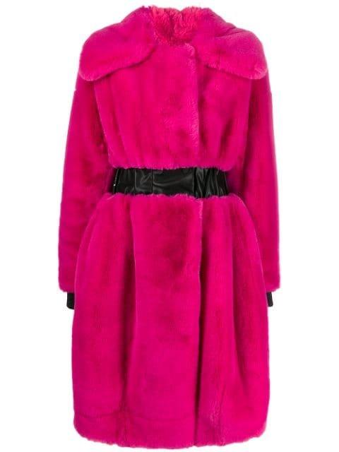 Karl Lagerfeld Karl x Carine Fantasy Fur Coat - Farfetch