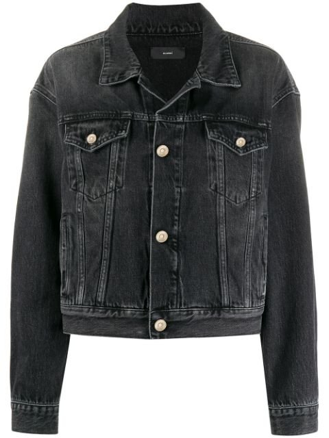 Alanui Stonewash Denim Jacket - Farfetch
