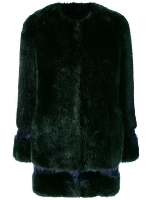 La Seine & Moi Petra Faux Fur Coat - Farfetch