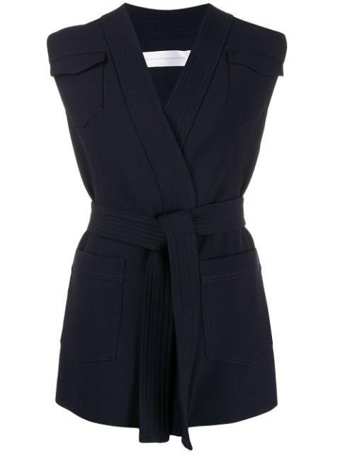 Victoria Victoria Beckham Belted Waistcoat - Farfetch