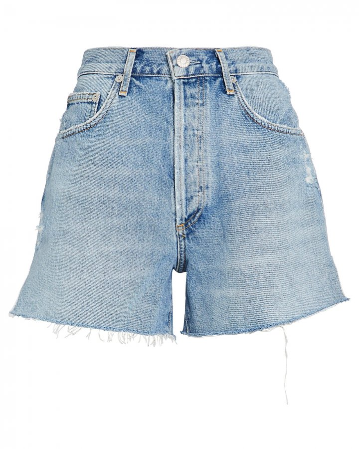 Dee High-Rise Denim Shorts