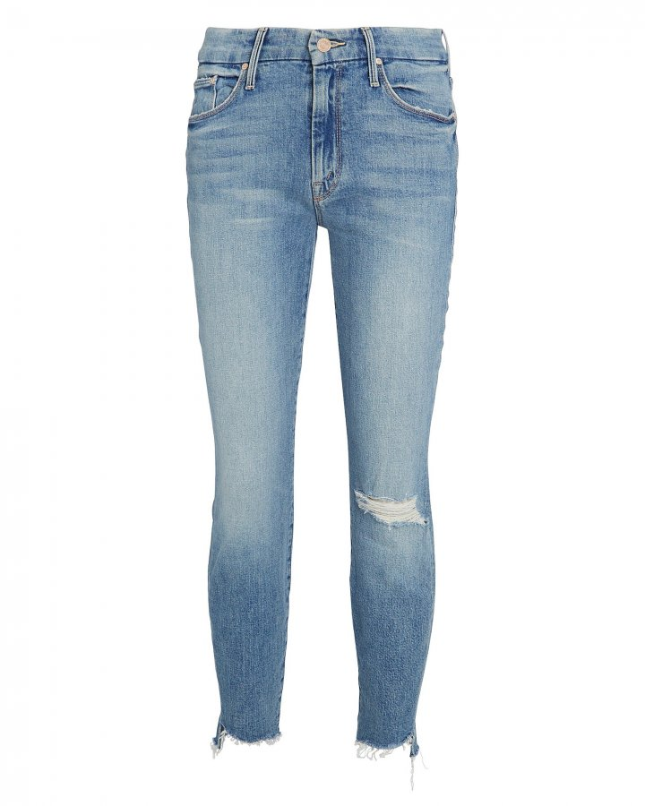 The Looker Ankle Fray Skinny Jeans