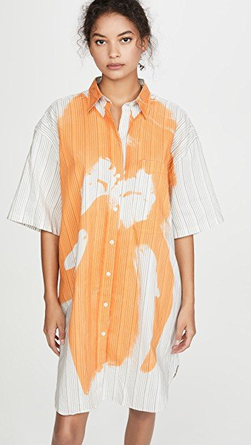 Daile Cotton Magazine Dress