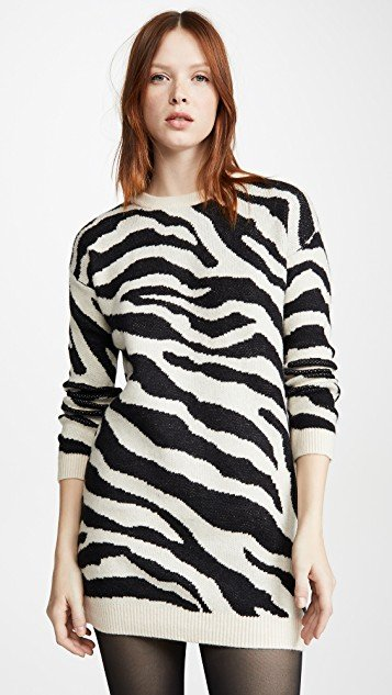 Life Is Wild Sweater Dress