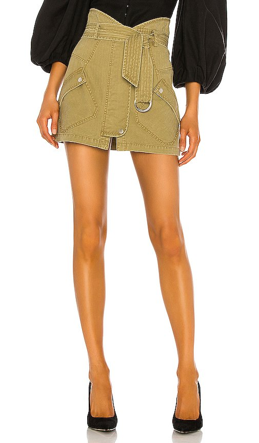 Brooke Heavy Canvas Mini Skirt