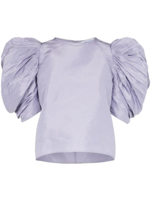 Nackiyé Lolita Pouf Sleeve Top - Farfetch
