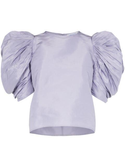 Nackiyé Lolita Pouf Sleeve Top - Farfetch