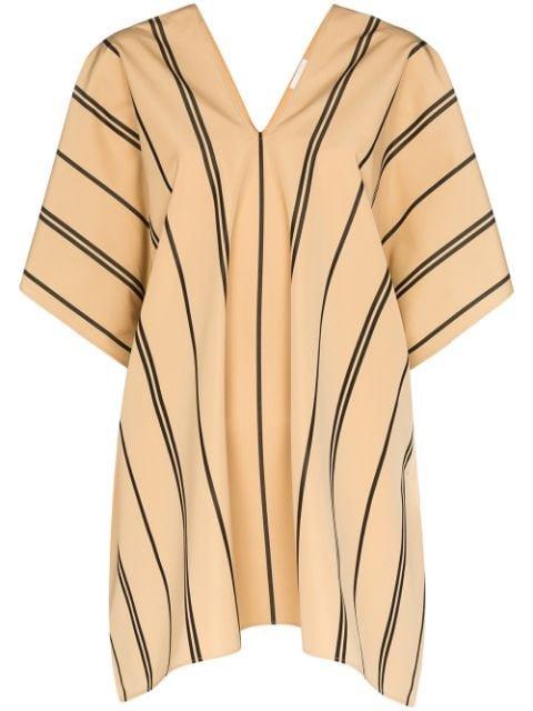 Jil Sander Striped Cotton Top - Farfetch