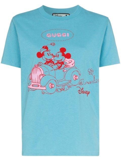 Gucci x Disney Mickey Print T-shirt - Farfetch