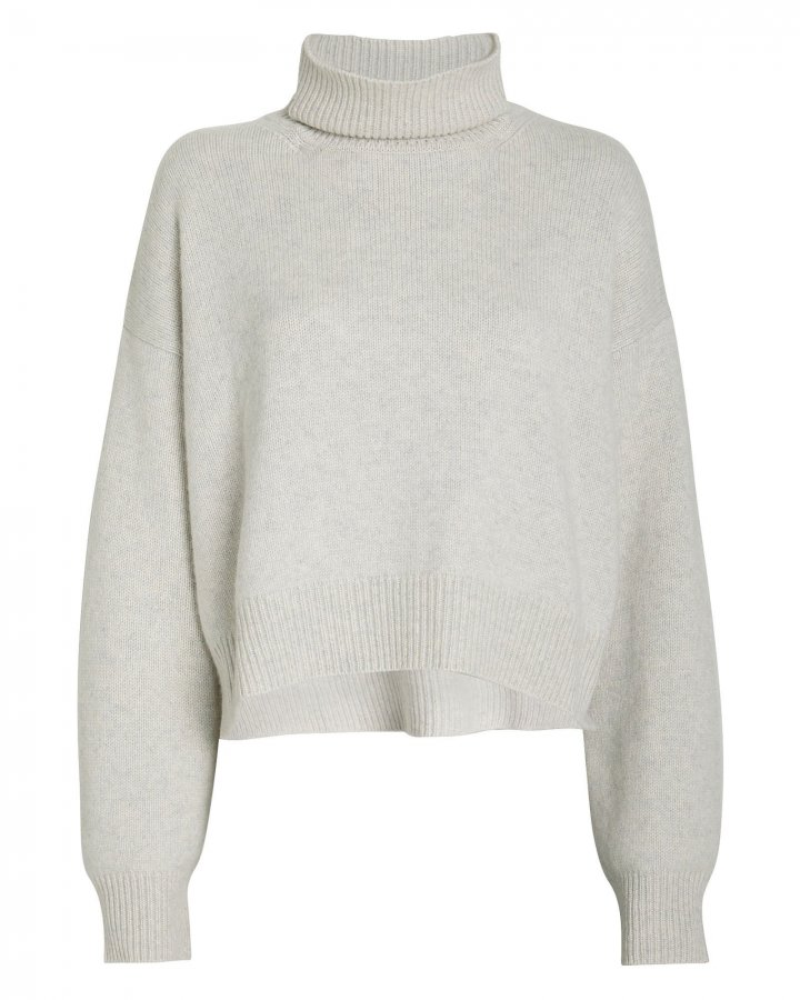 Lyn Cashmere Turtleneck Sweater