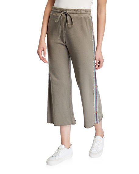 Plus Size Kaira French Terry Crop Pants