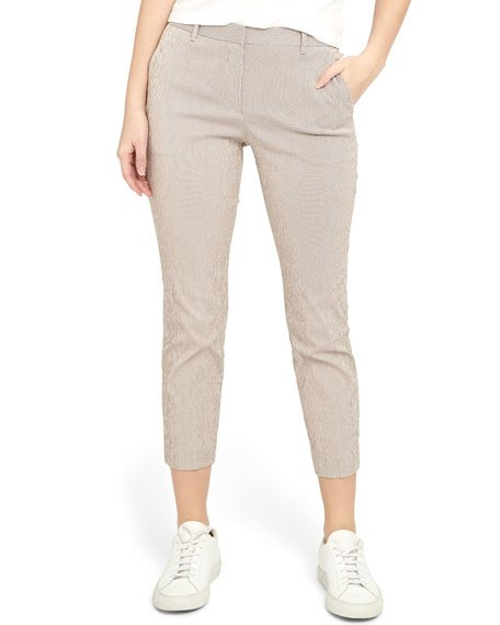 Treeca 4 Cropped Straight-Leg Pants