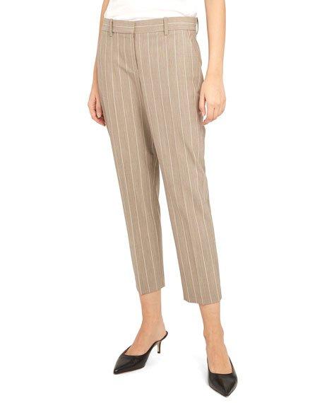 Treeca 2 Traceable Wool Striped Pants