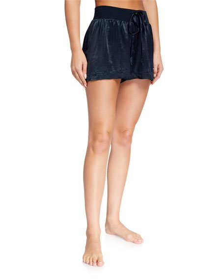 Mikel Silky Lounge Shorts