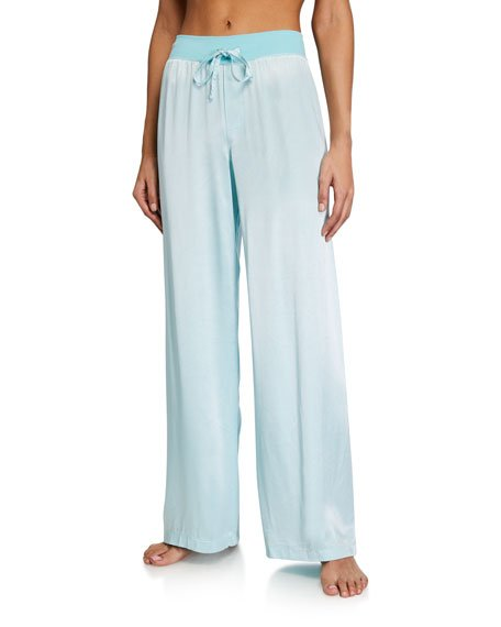 Jolie Silk-Blend Lounge Pants