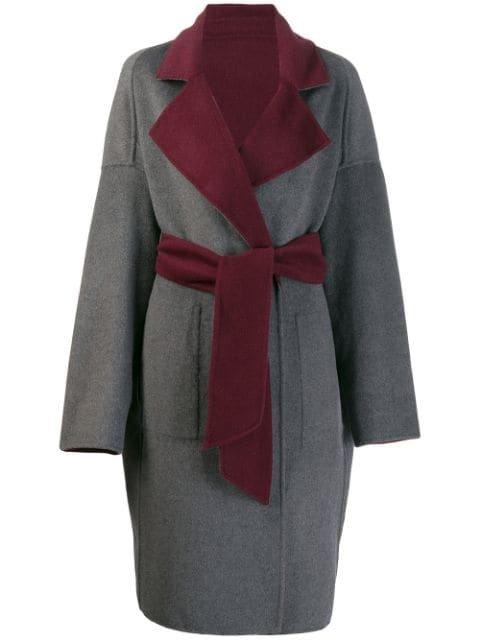 Karl Lagerfeld Reversible Wrap Coat - Farfetch