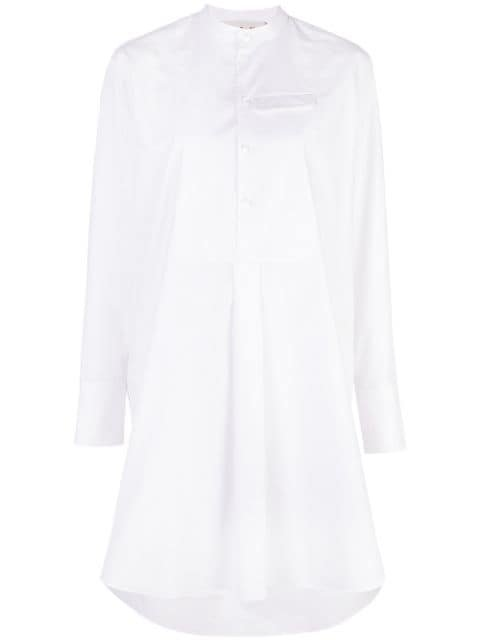 Marni High Low Hem Shirt Dress - Farfetch